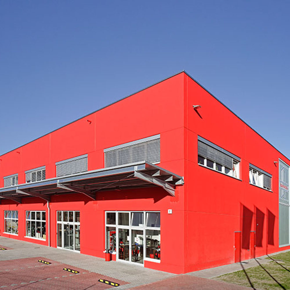 Neubau Lagerhalle