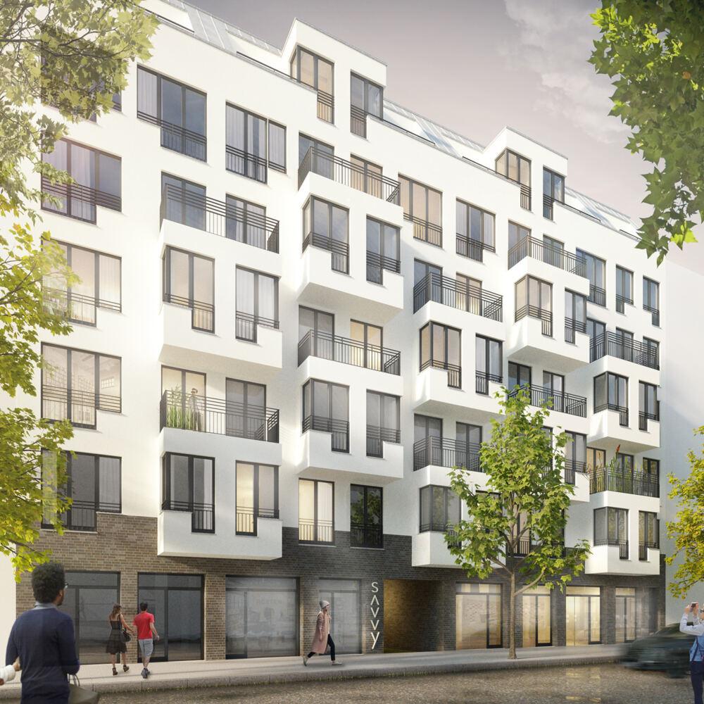Neubau Wohn- und Geschäftshaus Kreutziger Straße